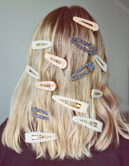 Pearla vintage clips in 'Gold'