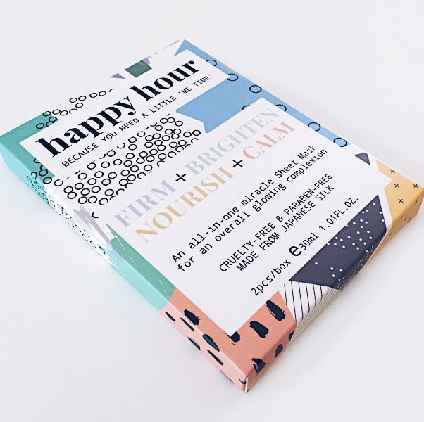 The All-in-one sheet mask (2 masks per box)