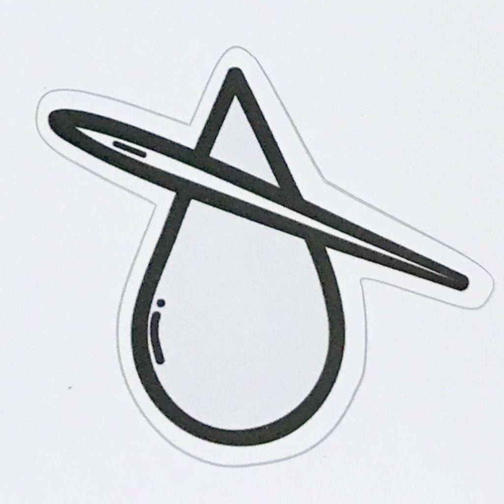 Threading Water Logo Sticker