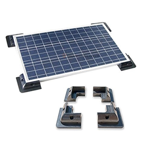 Set Of 4 Solar Panel Corner Mounts Td Solar Shop