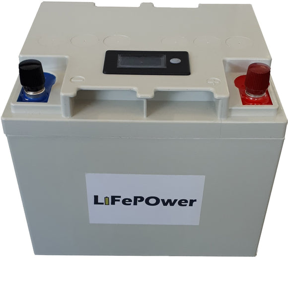LiFePOwer 50Ah 12V Lithium LiFePO4 Battery