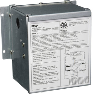 30 Amp Auto Transfer Switch