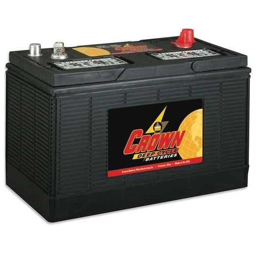 Crown 130Ah 12V Flooded Battery