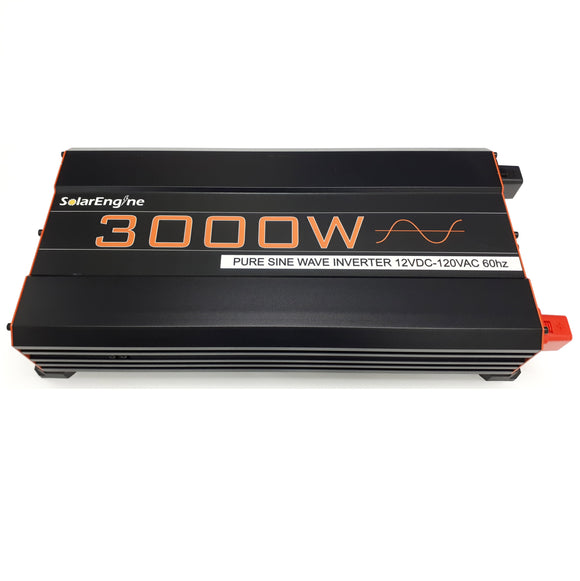 SolarEngine 3000W 24V Pure Sine Inverter