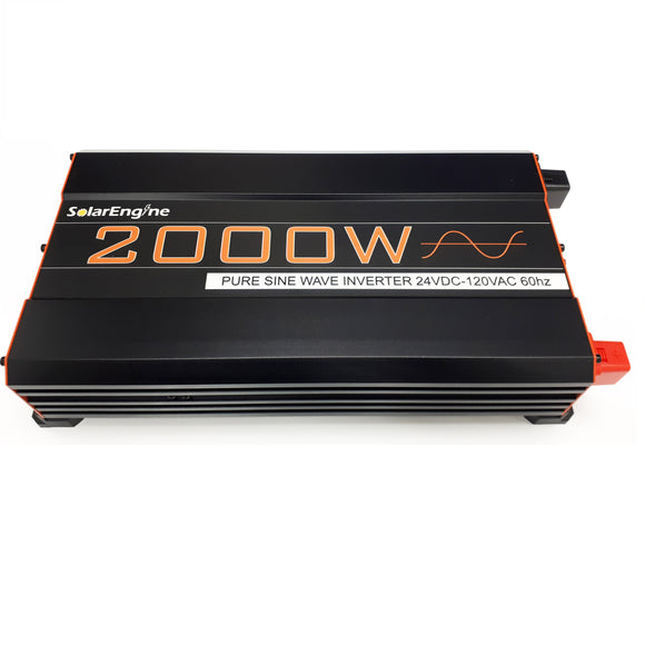 SolarEngine 2000W 24V Pure Sine Inverter
