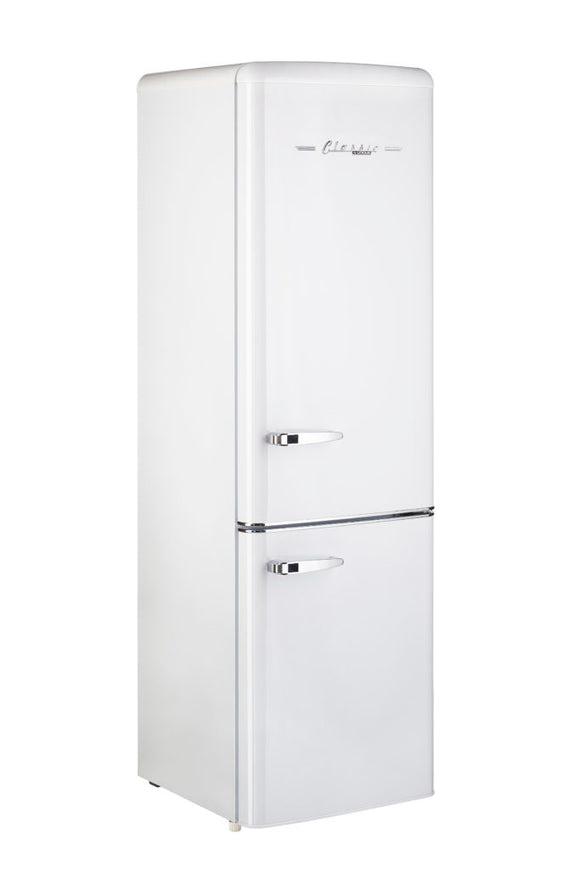 Unique 275L - 10 cu/ft Retro Bottom Mount DC Fridge