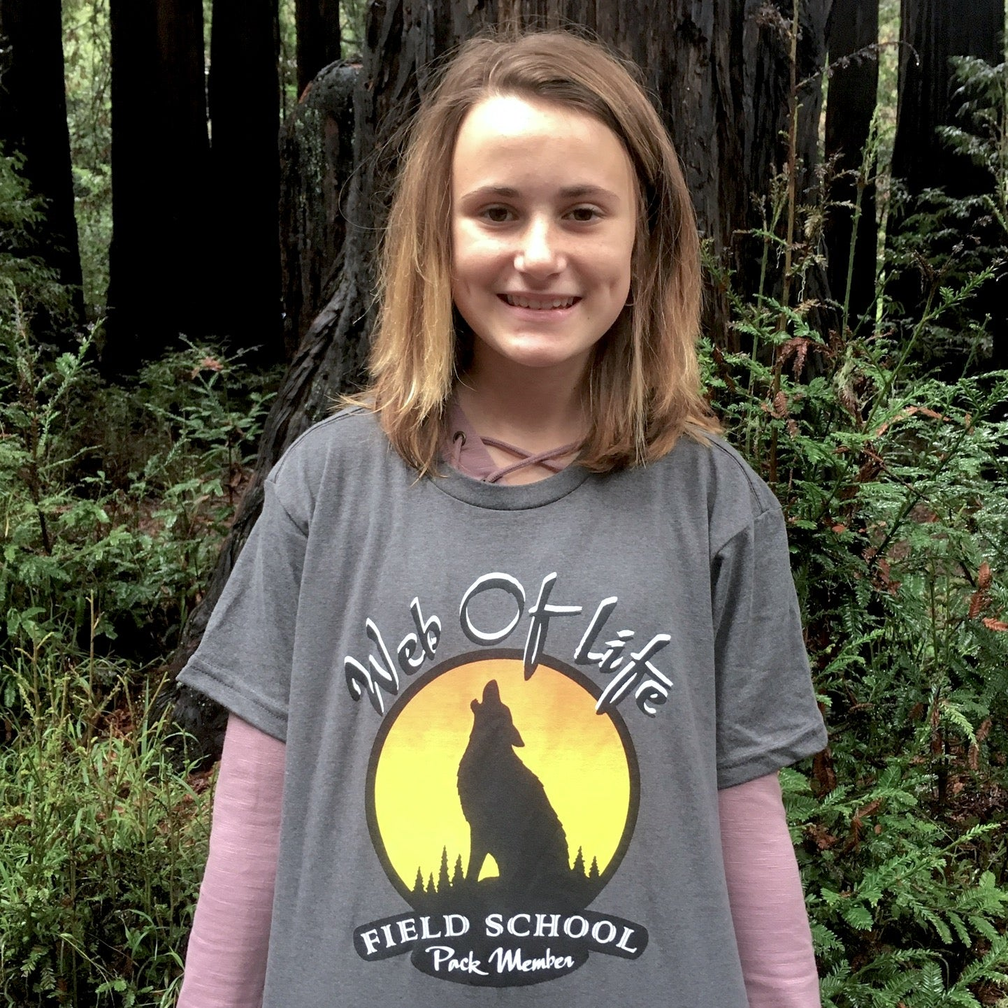 WOLF School introduces 100% Recycled Everywhere T-shirts to benefit Scholarship Fund