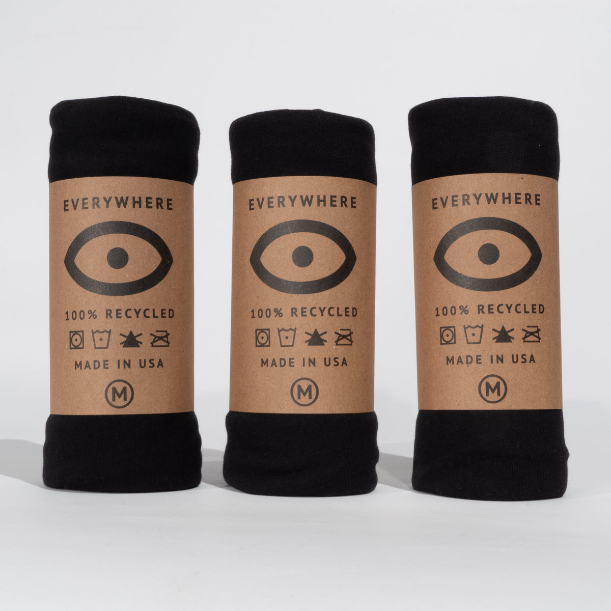 Recycled Eco-Blend T-Shirt 3-Pack