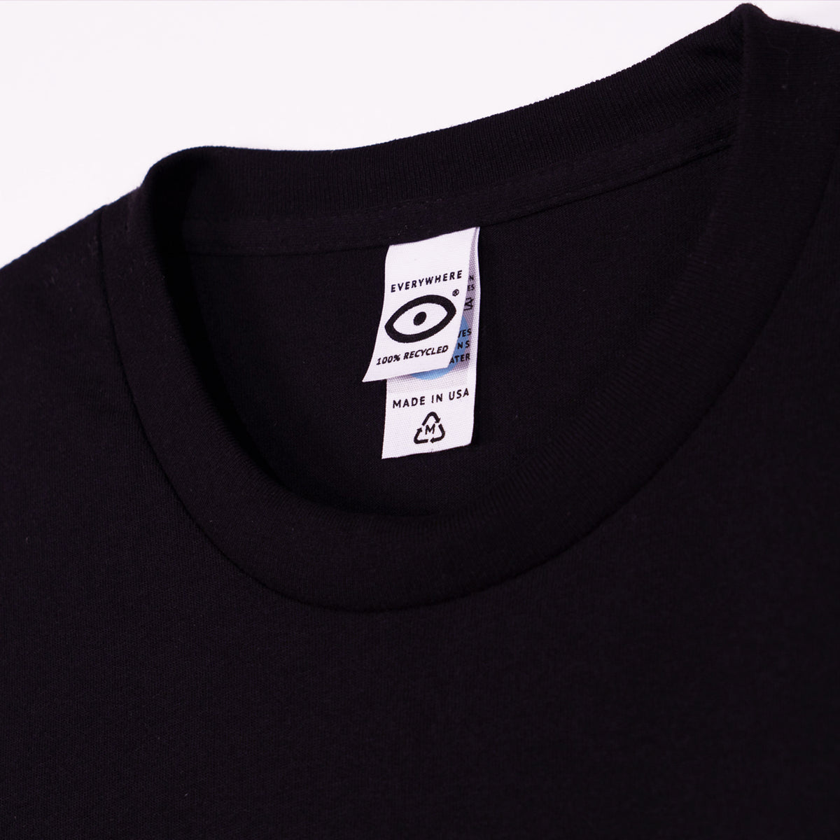 Recycled Cotton Long Sleeve T-Shirt