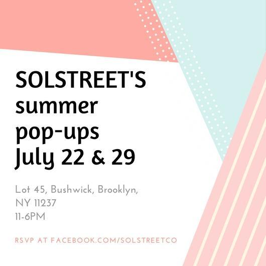 PLAITLY at the Solstreet Pop-Up Shops