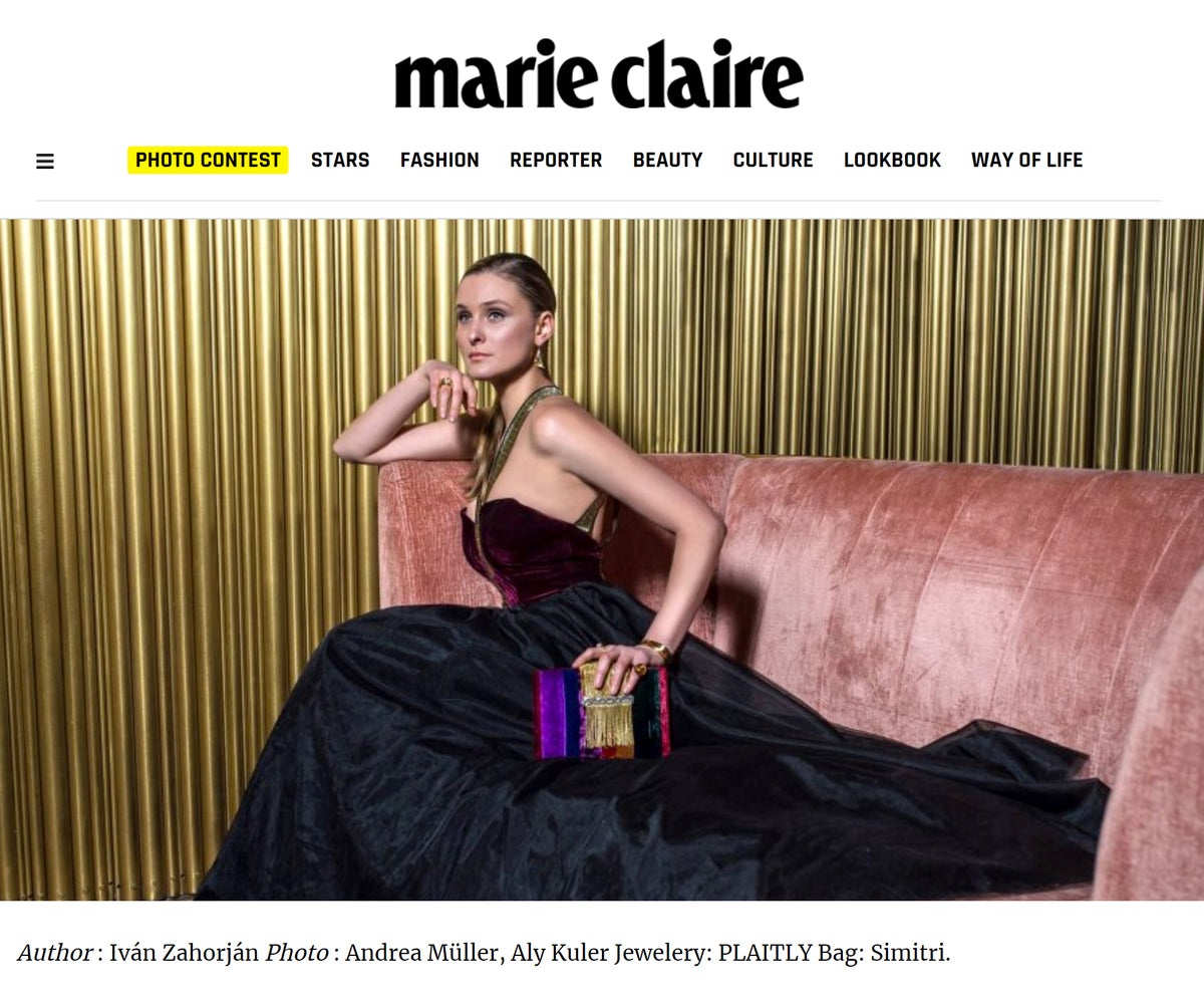 PLAITLY in Marie Claire
