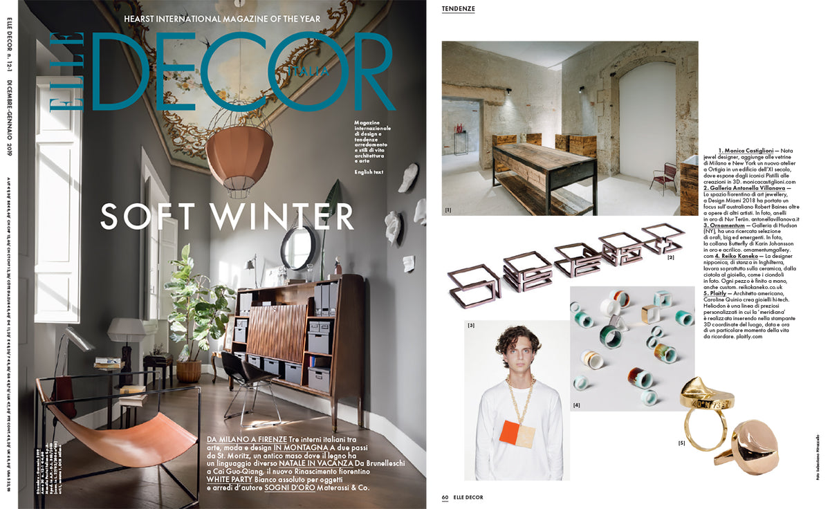 Materassi Co.Plaitly In Elle Decor Italia