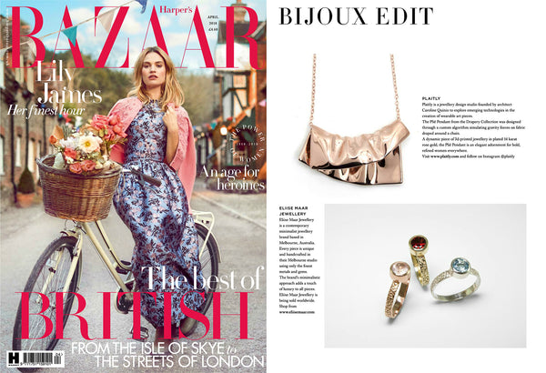 PLAITLY in Harper's Bazaar Magazine