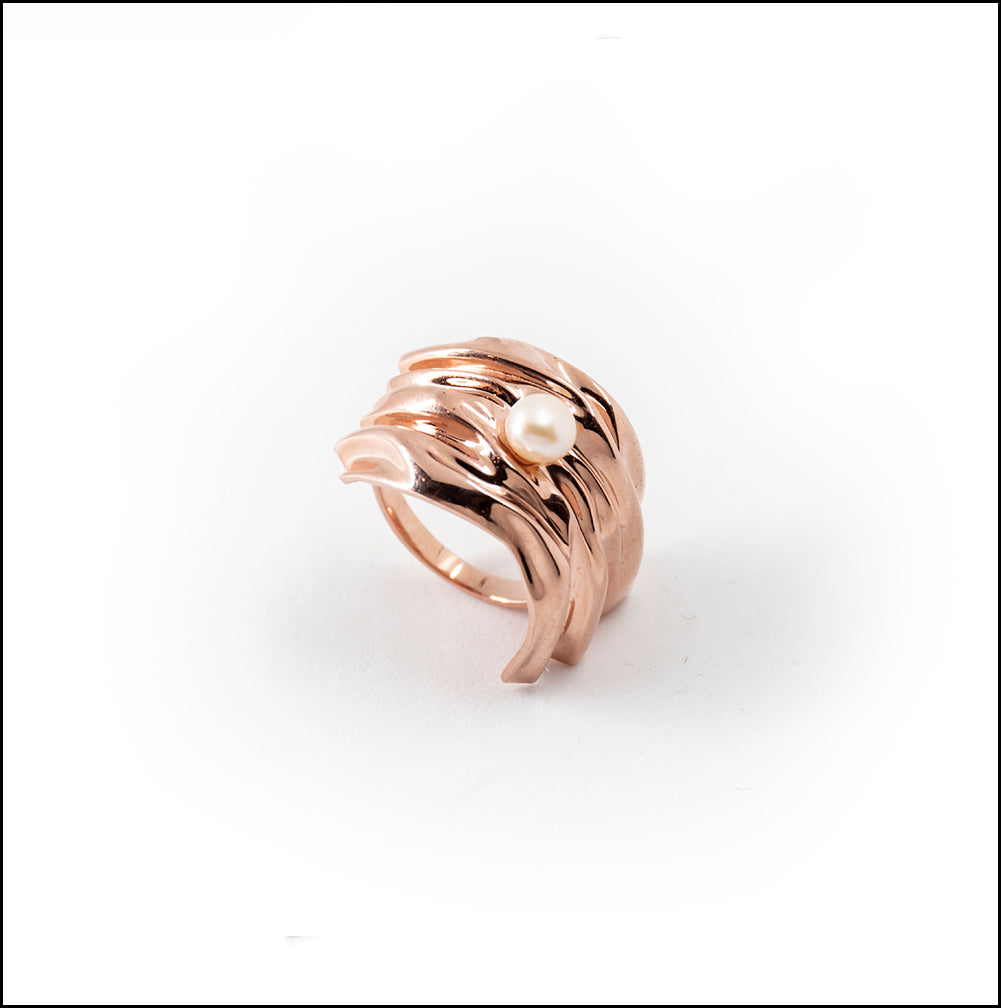 Cambré Ring in 18K Rose Gold