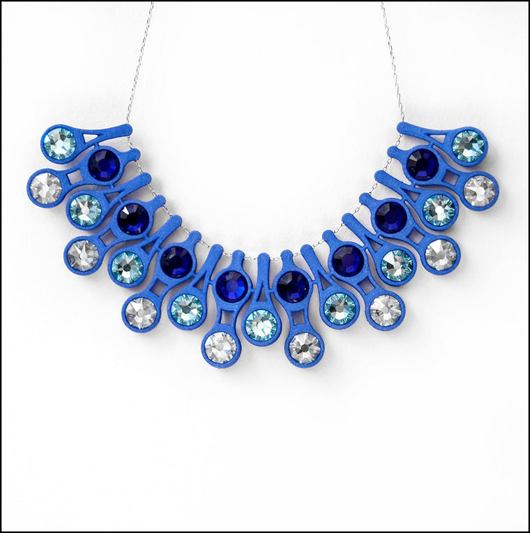 Dewdrop Necklace in Blue