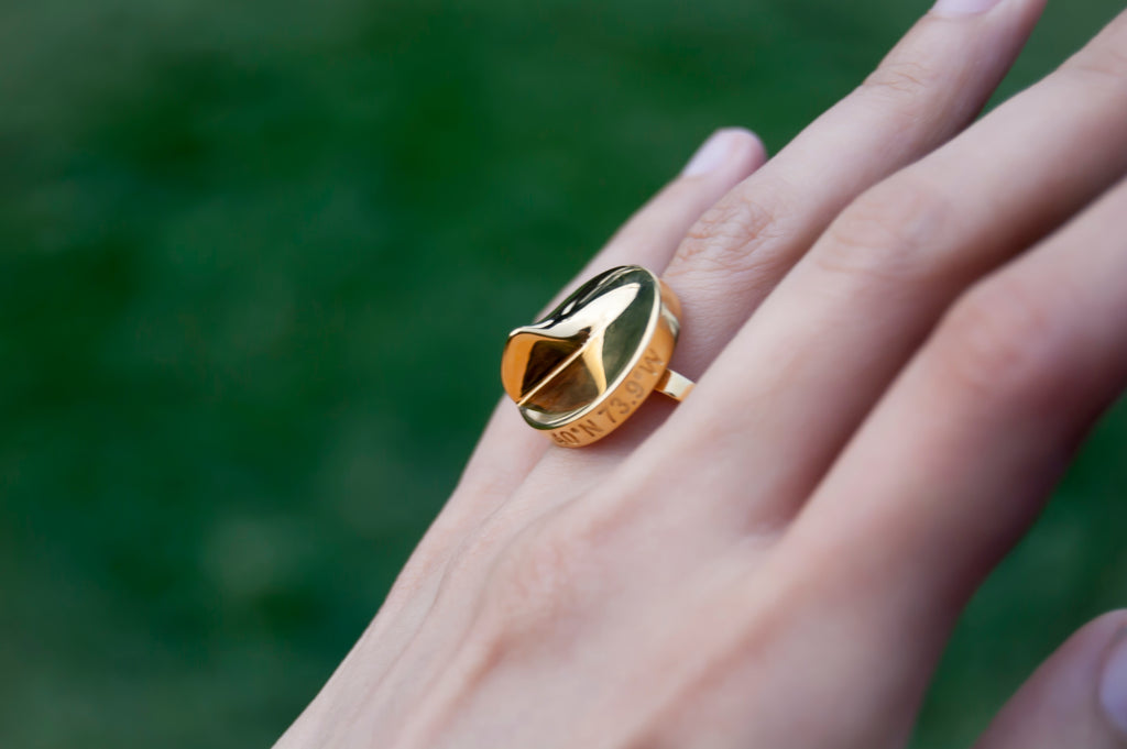 Heliodon Ring in Gold