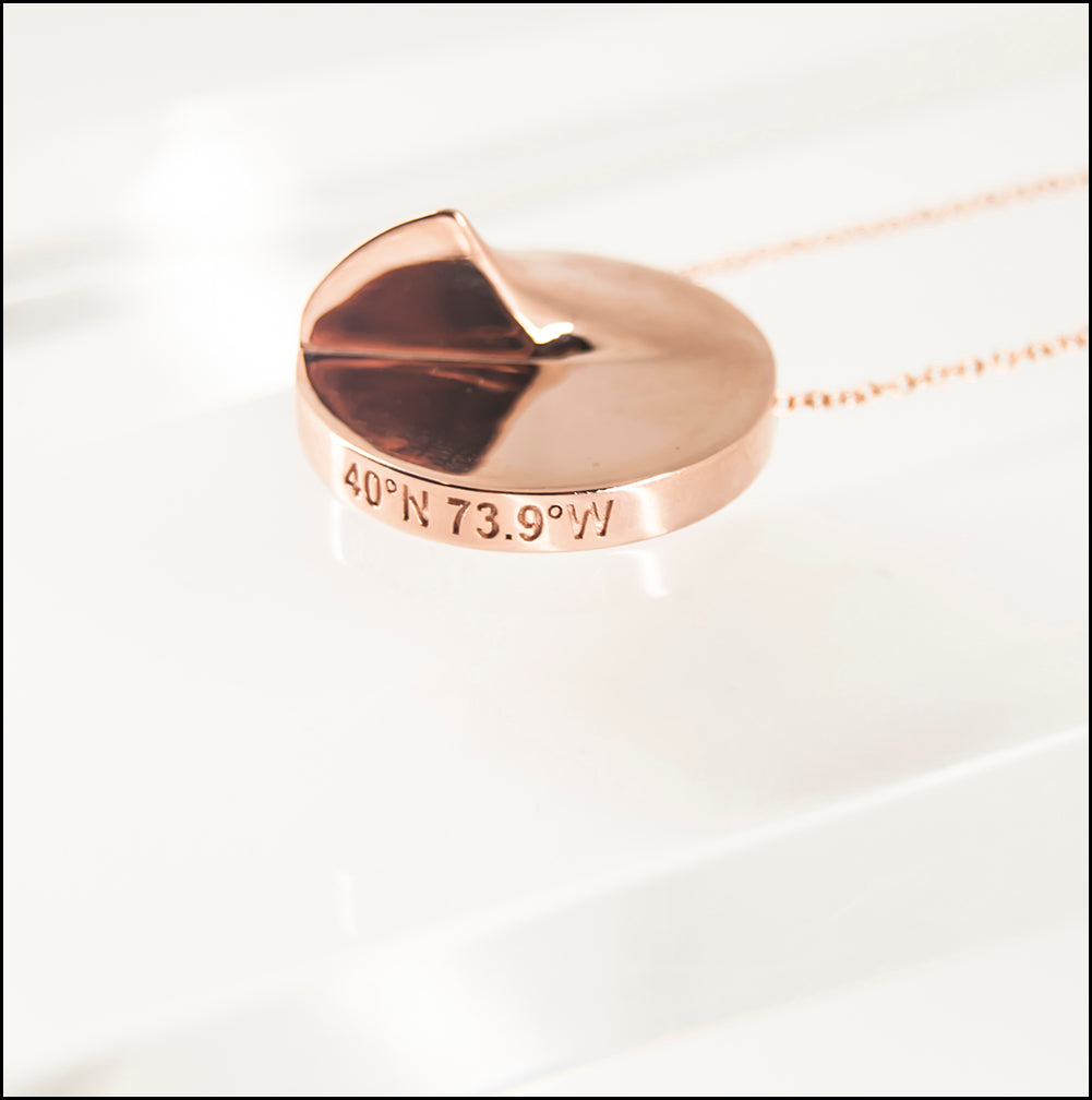 Heliodon Pendant in Rose Gold
