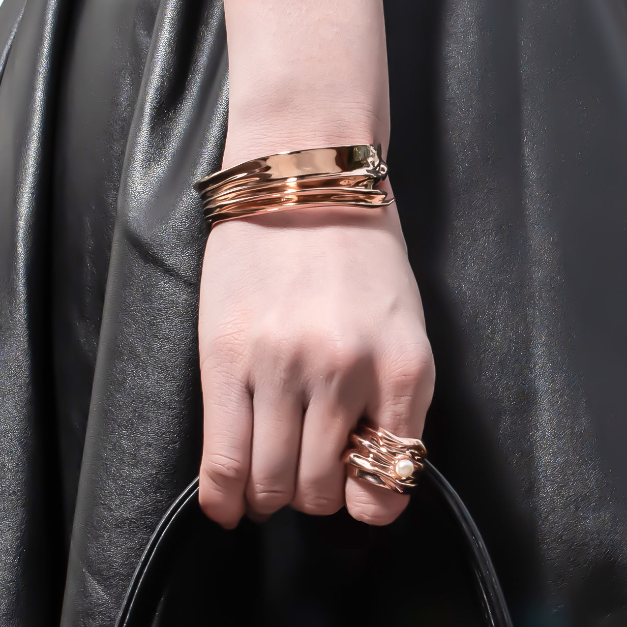 Entrelacé Bracelet in 18K Rose Gold
