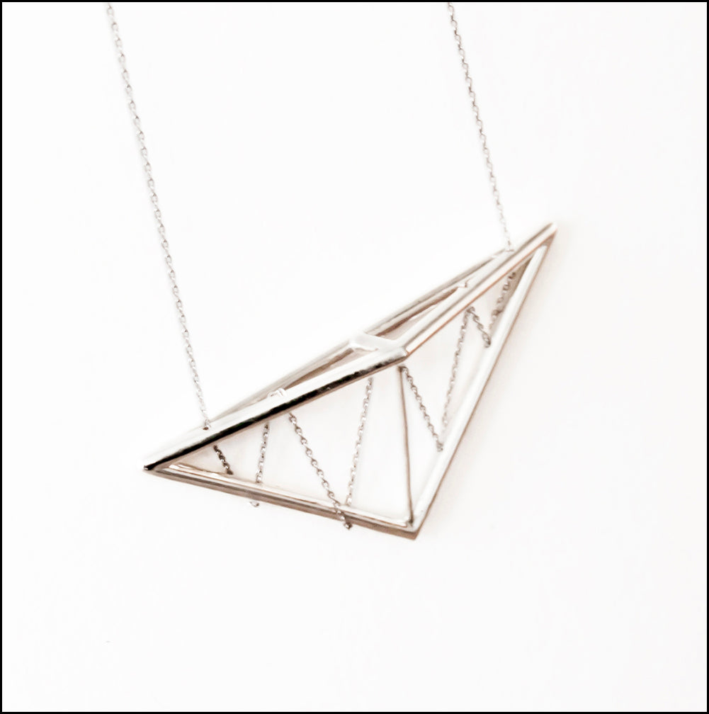 Pitched Truss Pendant