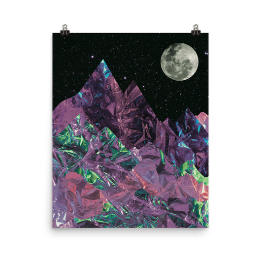 Mountain Moon Poster