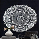 Abstract Lotus Flower Tapestry, Multiple Styles Available! - Nazamida