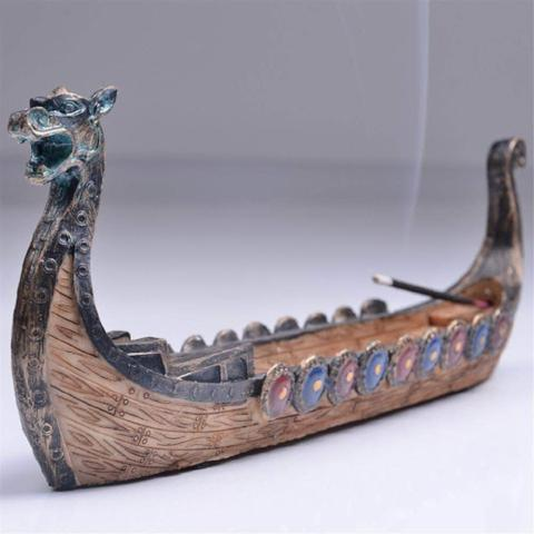 Dragon Ship Incense Burner