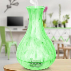 550ml LED Marble Accent Essential Oil Diffuser - Nazamida