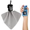 Clip-on Carry Case Lint Free Cleaning Cloth