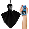 Clip-on Carry Case Microfibre Screen Cleaning Cloth