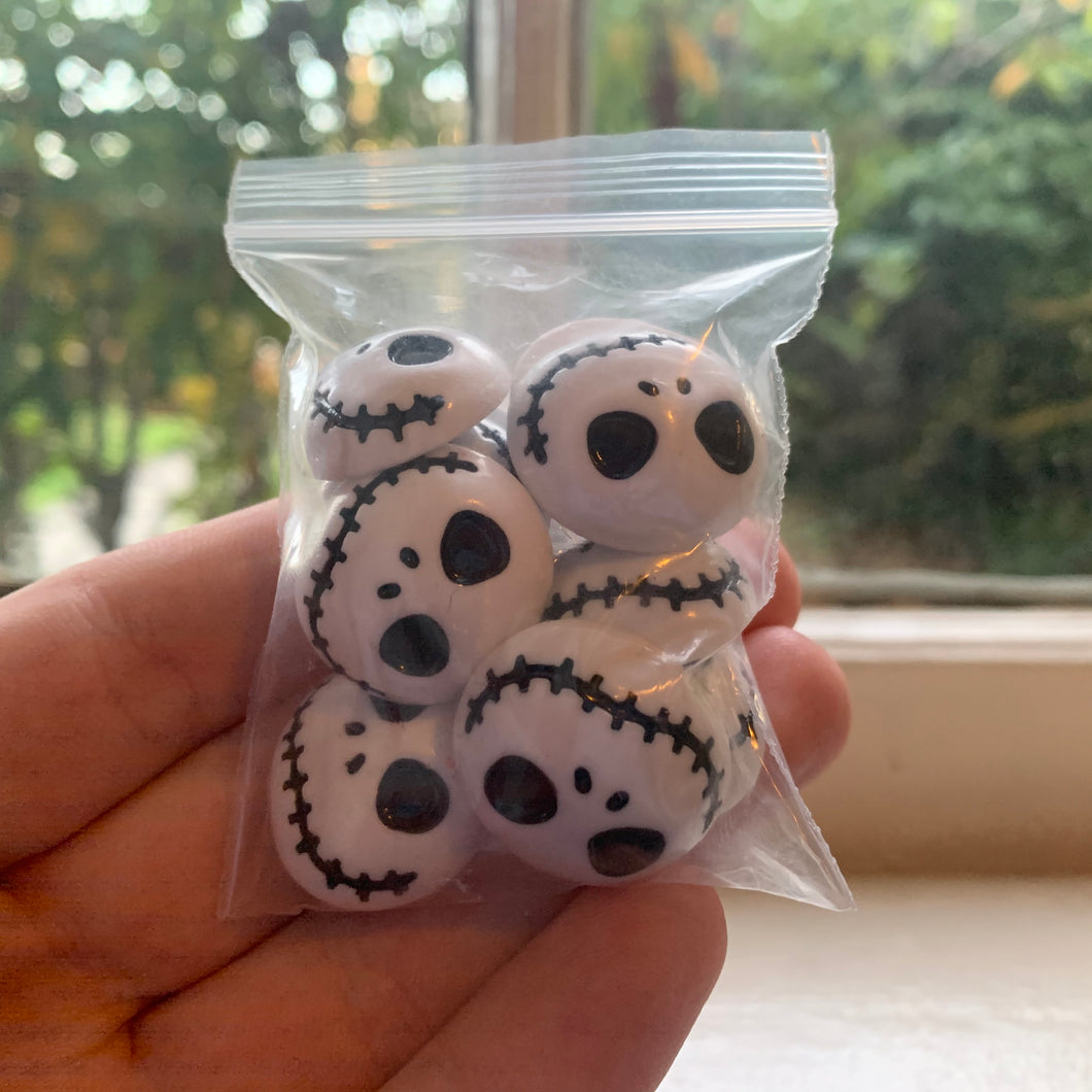 10 jack skellington charms.