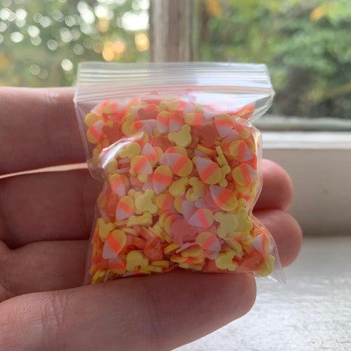 mickey's candy corn sprinkle mix.
