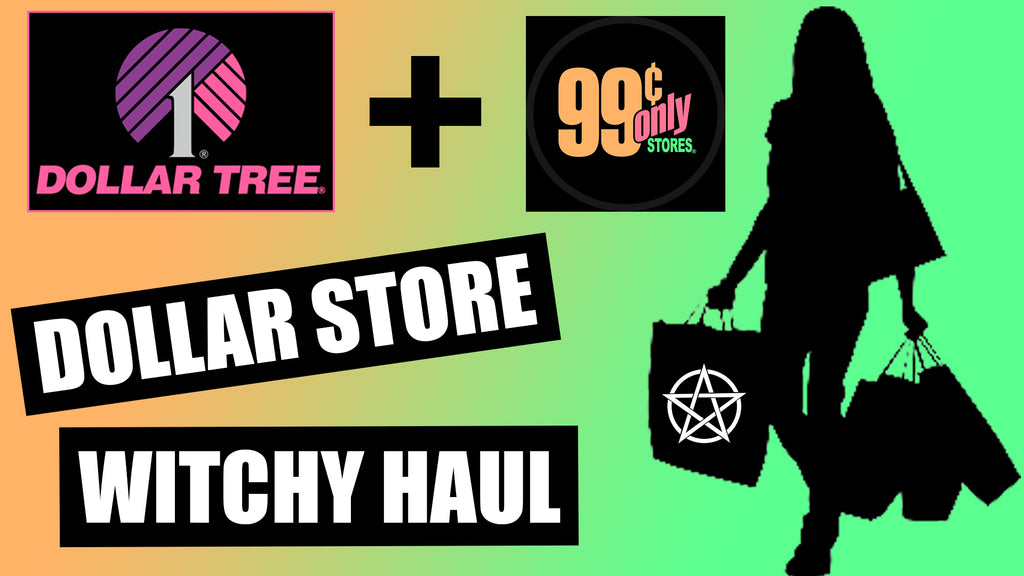Dollar Store Witchy Haul | DigitalWitchTV | FirmeArte
