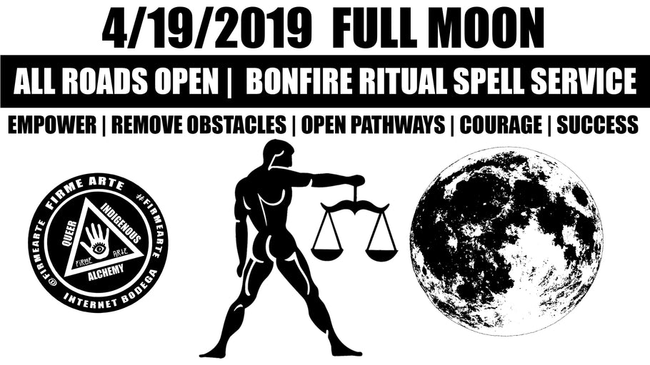 4/19/2019 Libra Full Moon Bonfire Ritual | Spell Service Video | DigitalWitchTV | FirmeArte