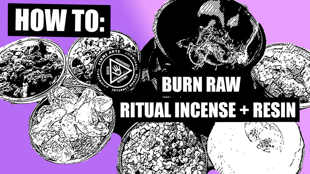 How to burn Raw Incense + Resin | DigitalWitchTv | FirmeArte