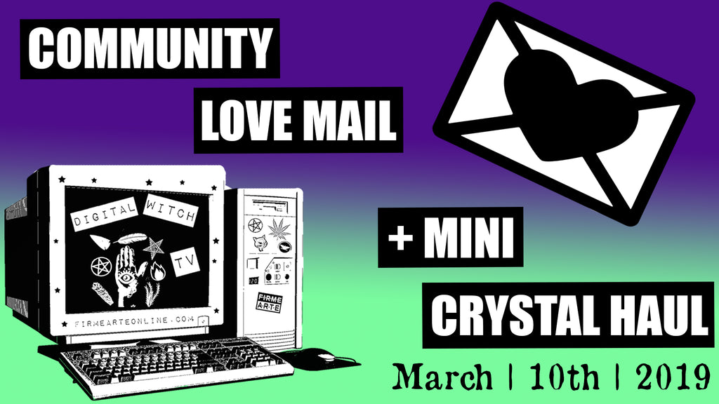 Love Mail + Vegan Chocolate + Mini Crystal Haul | DigitalWitchTv