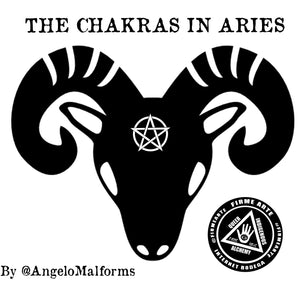 The Chakras In Aries | By @AngeloMalforms
