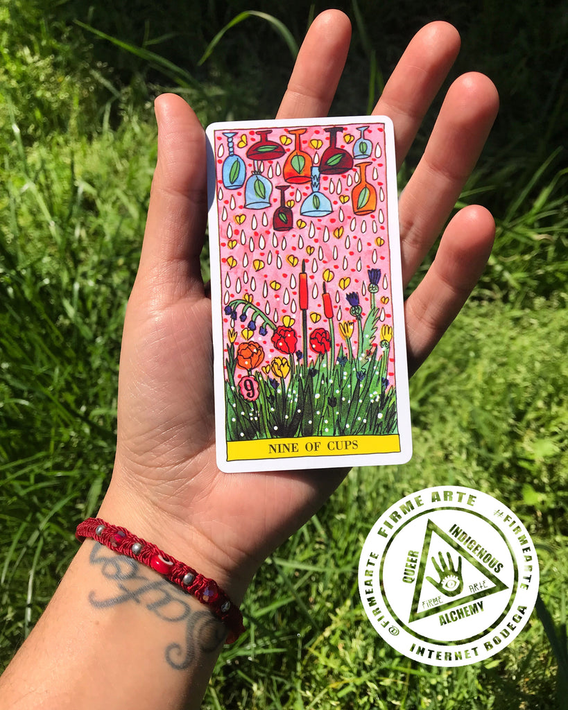 April 16th 2019 | Community tarot reading | by @firmearte