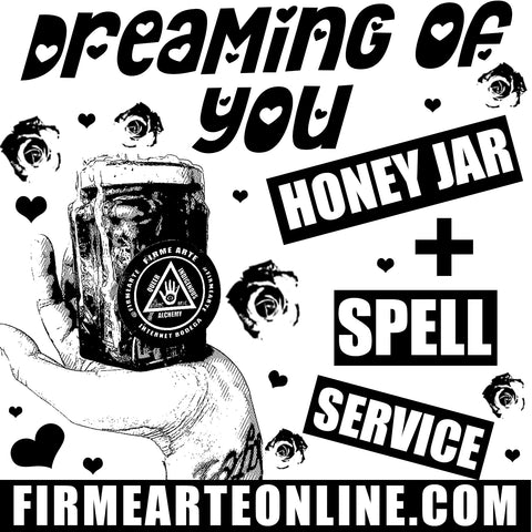 Honey Jar + Spell Service | Dreaming Of You | Love