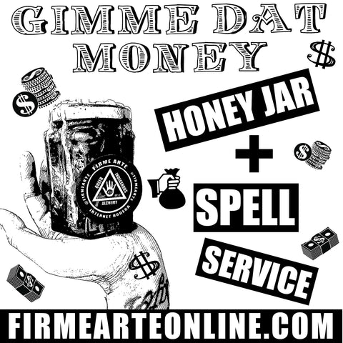 Honey Jar + Spell Service | Gimme Dat Money | Money Manifesto
