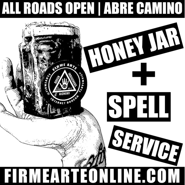 Honey Jar + Spell Service | All Roads Open | Abre Camino