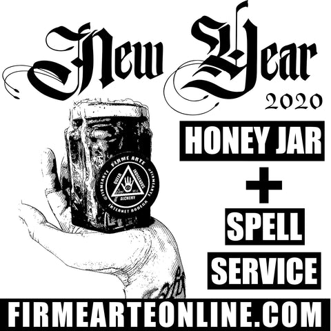 Honey Jar + Spell Service | New Year 2020
