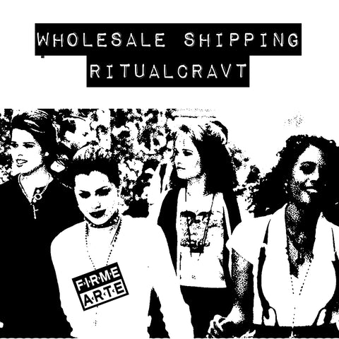 Wholesale | Ritual Cravt Shipping  1/2020