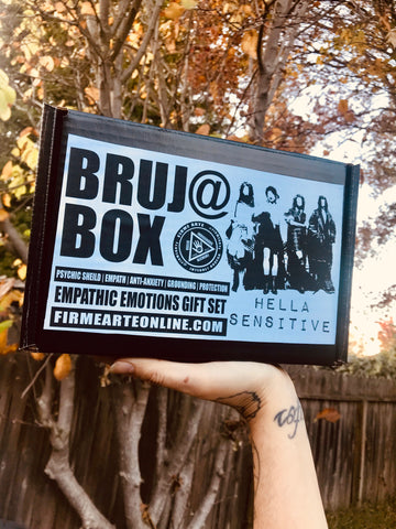 Bruj@ Box | Hella Sensitive | Empathic Emotions | Gift Set