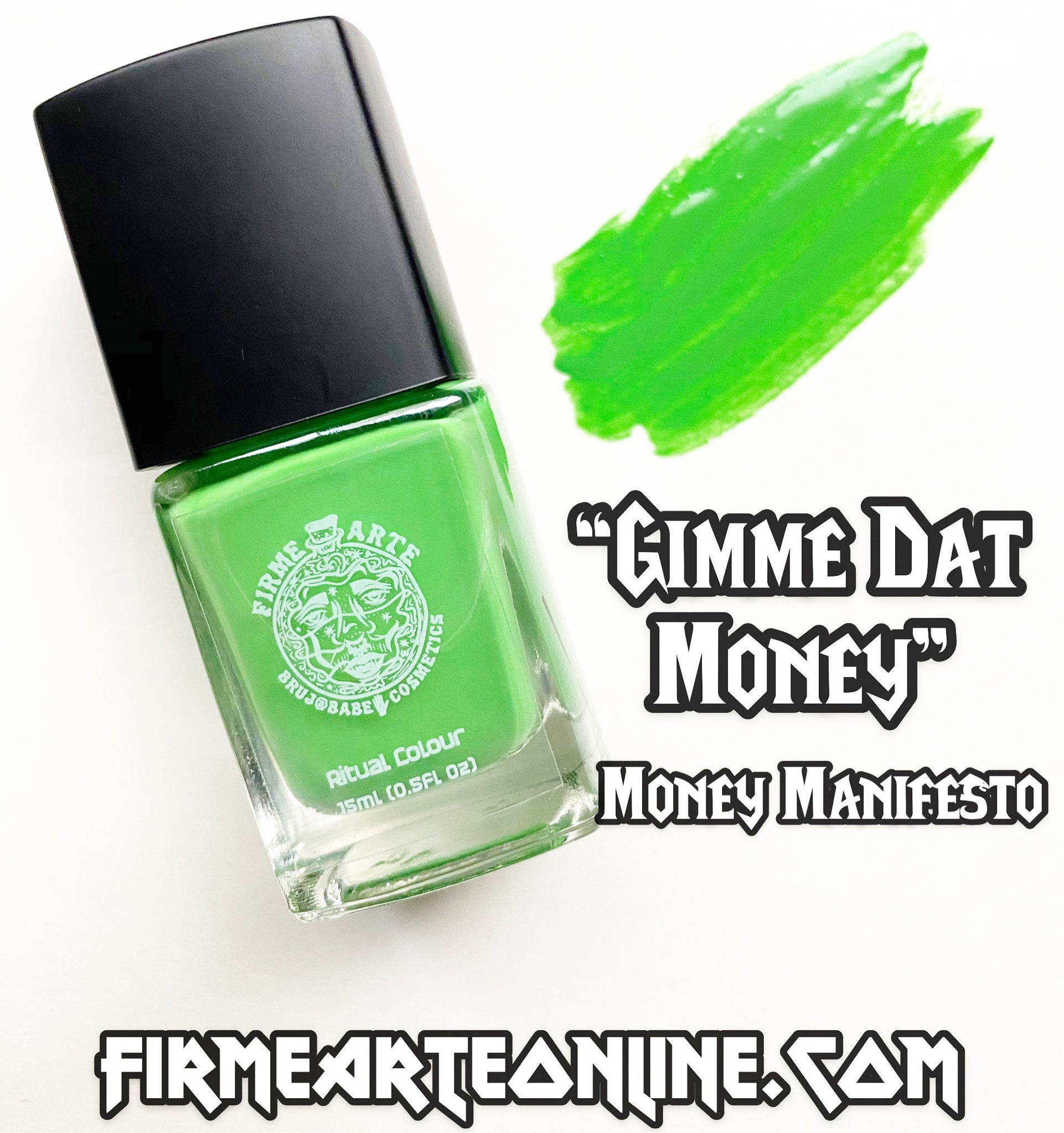 Nail Worship | Crystal Infused | Ritual Colour | Gimme Dat Money