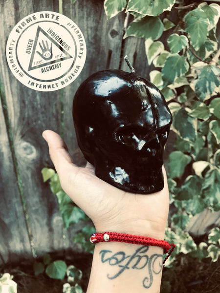 Figure candles | Skull | Calaca |  Black & White