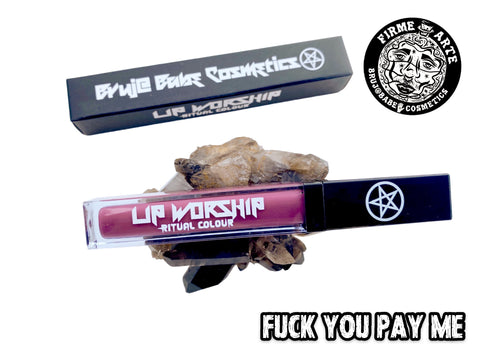 Lip worship | Ritual Colour | Fuck You Pay Me