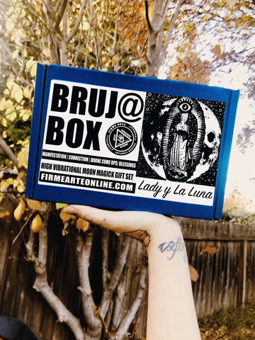 Bruj@ Box | Lady y La Luna | High Vibrational Moon Magick | Gift Set