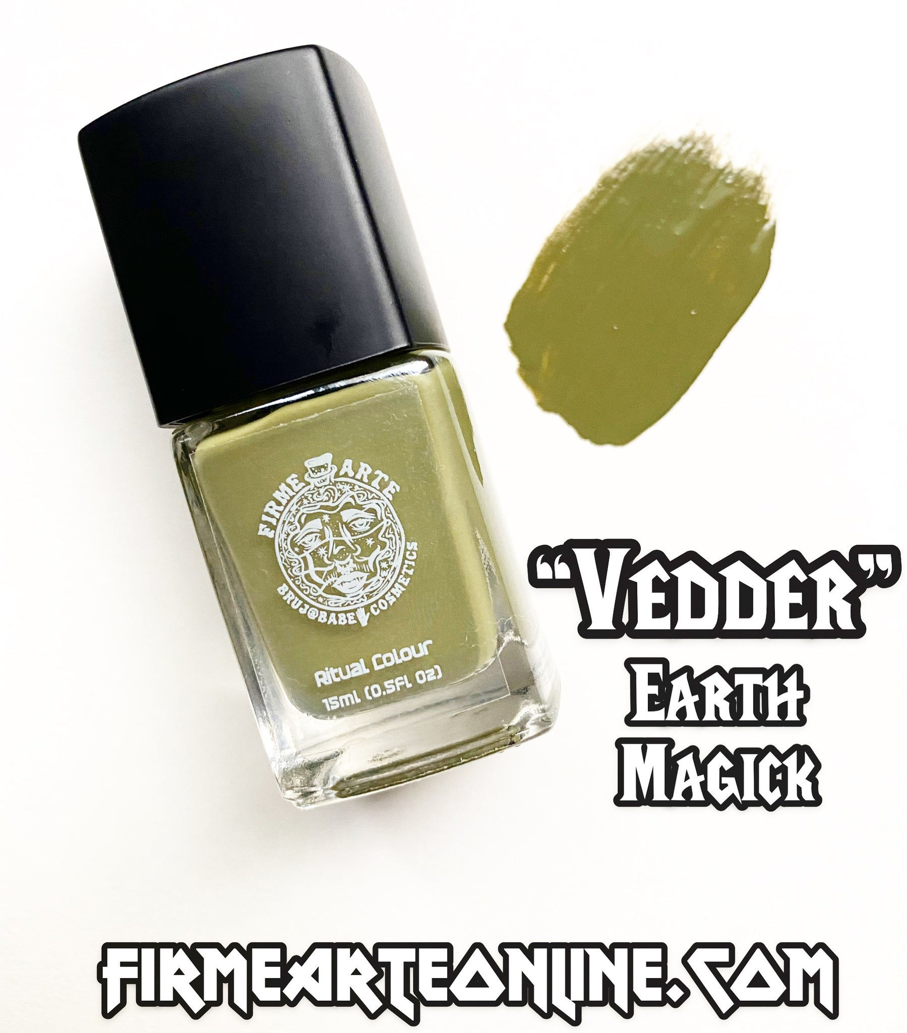 Nail Worship | Crystal Infused | Ritual Colour | Vedder