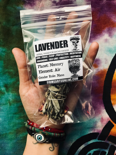 Lavender | Botanical Bundle For Smoke Magick