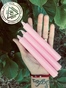 Taper Candles | PINK | 6 inch